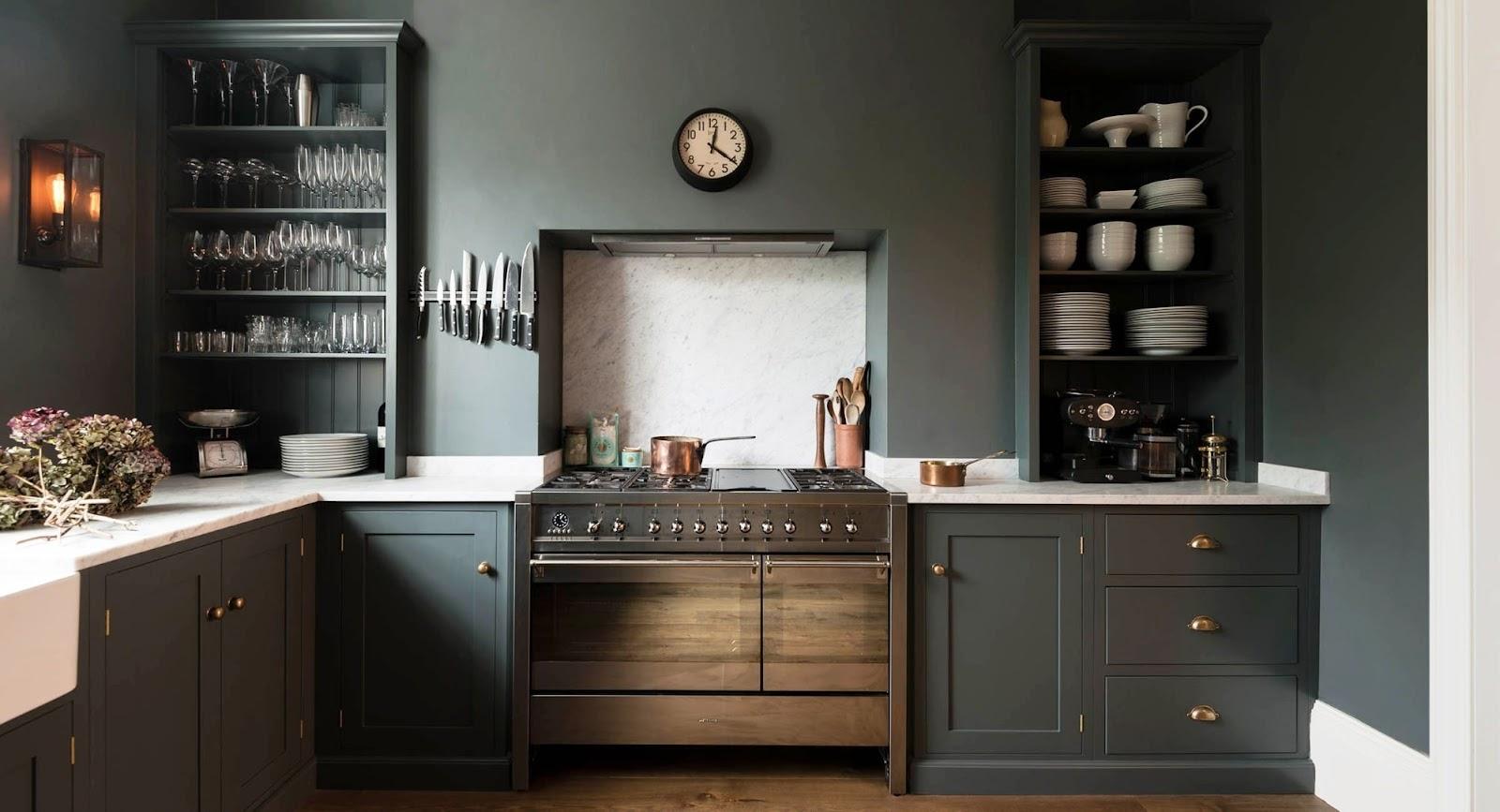 phòng bếp thiết kế nội thất theo xu hướng