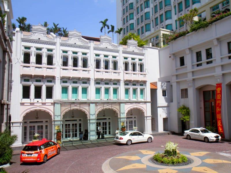 intercontinental hotel singapore