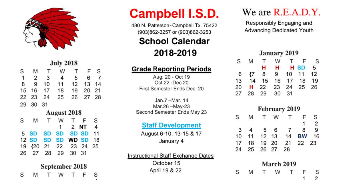 February 2019 Calendar First School 2018 2019 District Calendar Final.pdf   Google Drive