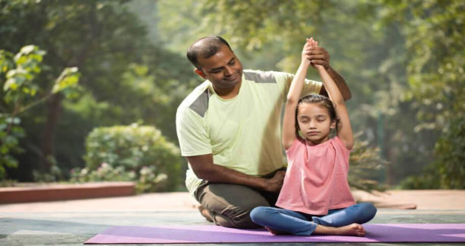 help kids practice yoga and teach them the benefits this world yoga day