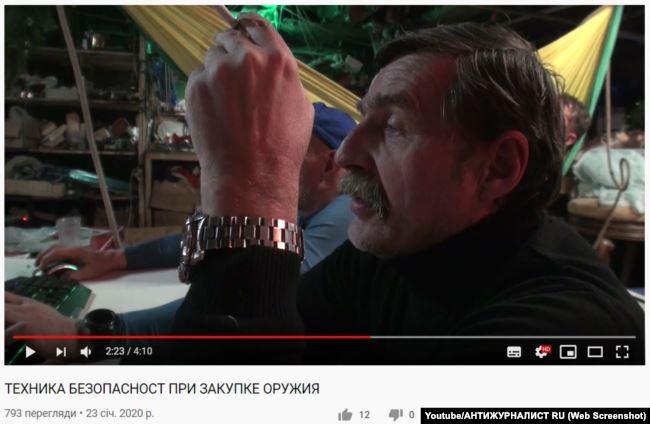 Ігор Безлер на відео в яхті. Крим