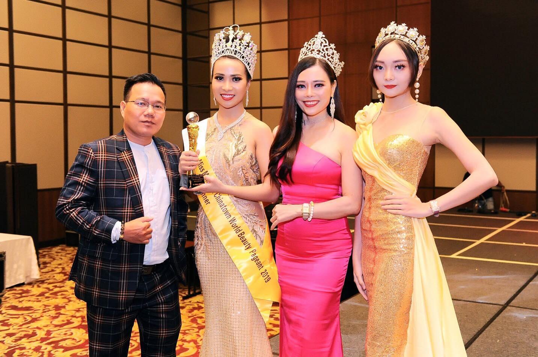 Ông trùm MXH A Tuân & Hoa hậu Nguyễn Gia Trân ngồi ghế nóng Hoa Hậu - Nam Vương tại Thái Lan  - Ảnh 3