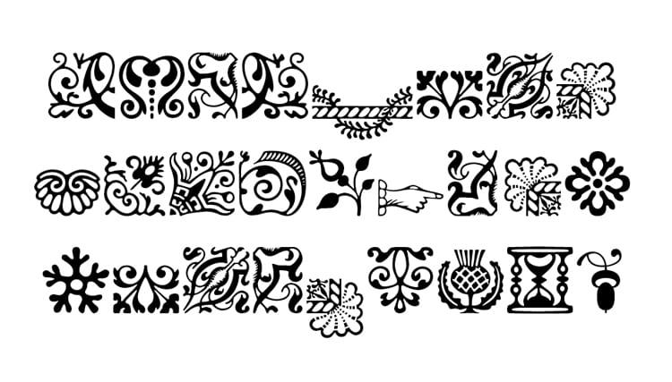 Image result for Typographic glyphs