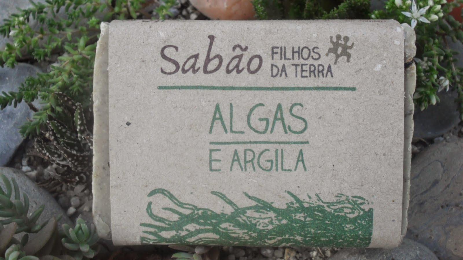 Sabão de Algas e Argila