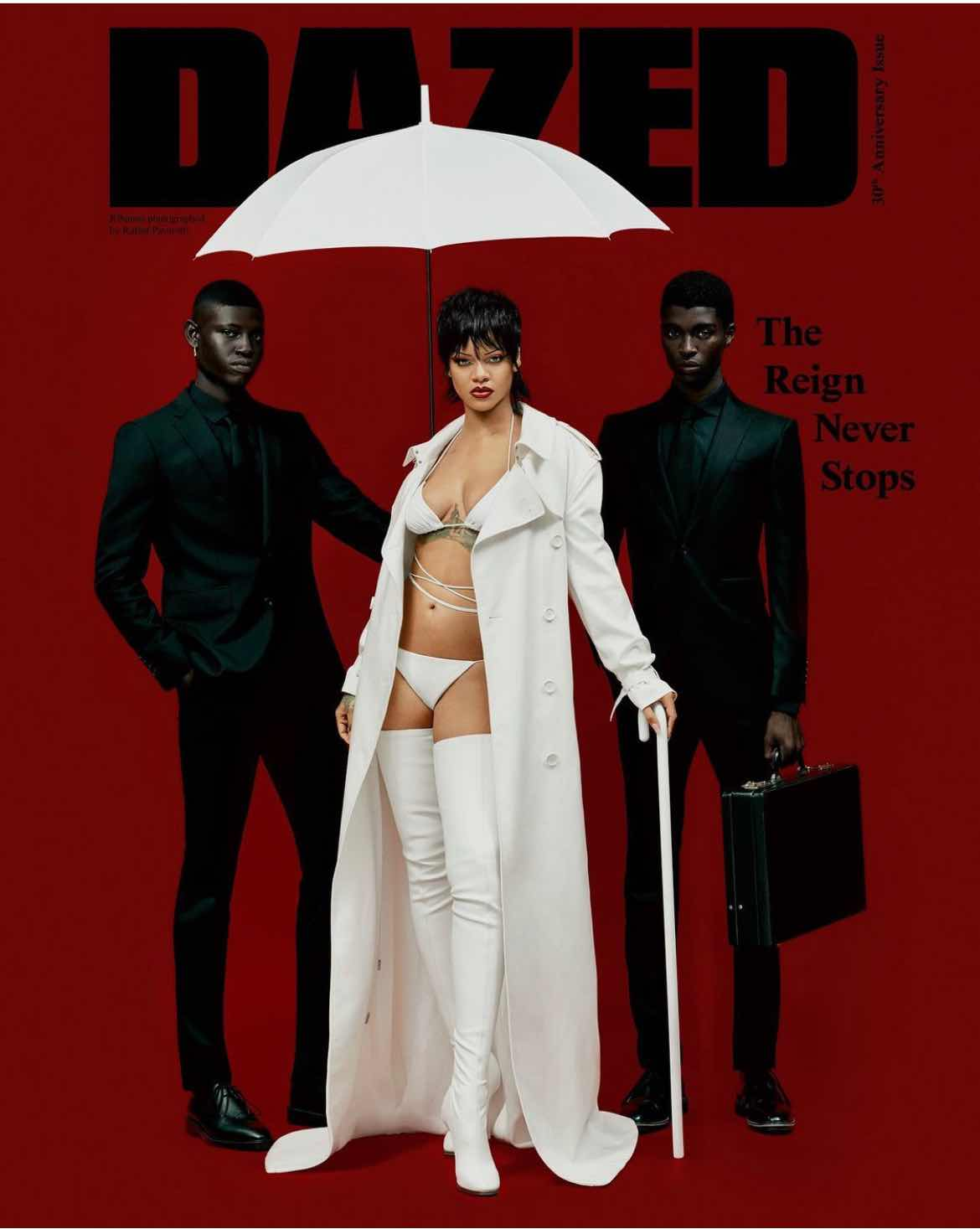 Rihanna For Dazed Magazine