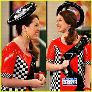 jennifer-stone-harper-racing.jpg  sc 1 st  Her C&us & Throwback: Harperu0027s Outfits Rocked | Her Campus