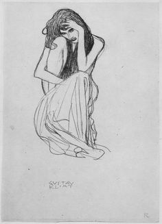 Image result for Gustav Klimt sketches