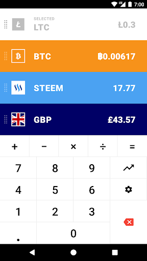 CoinCalc - Currency Converter/Exchange with Crypto- screenshot thumbnail