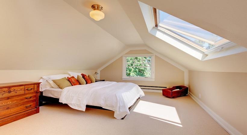 Thiết kế phòng ngủ ngập tràn ánh sáng tự nhiên
