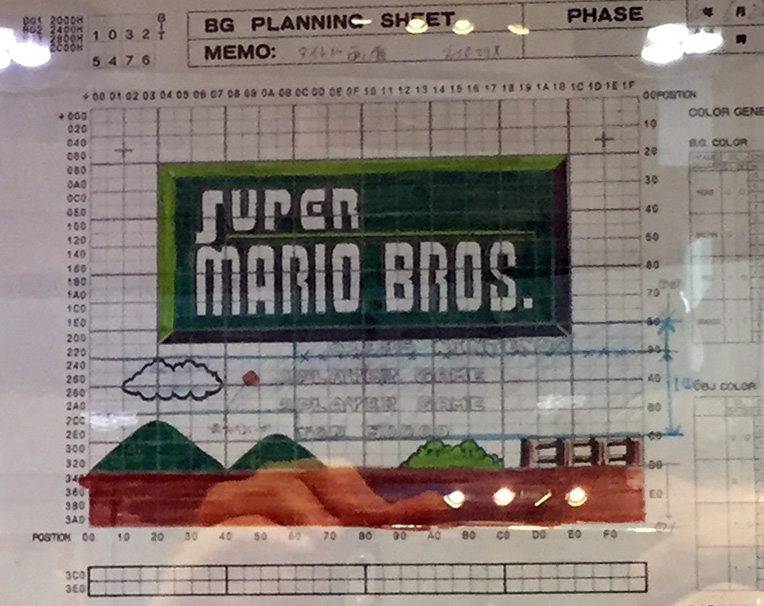 Super Mario Title Screen