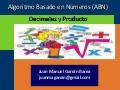 Aprendizaje decimales y multiplicacion