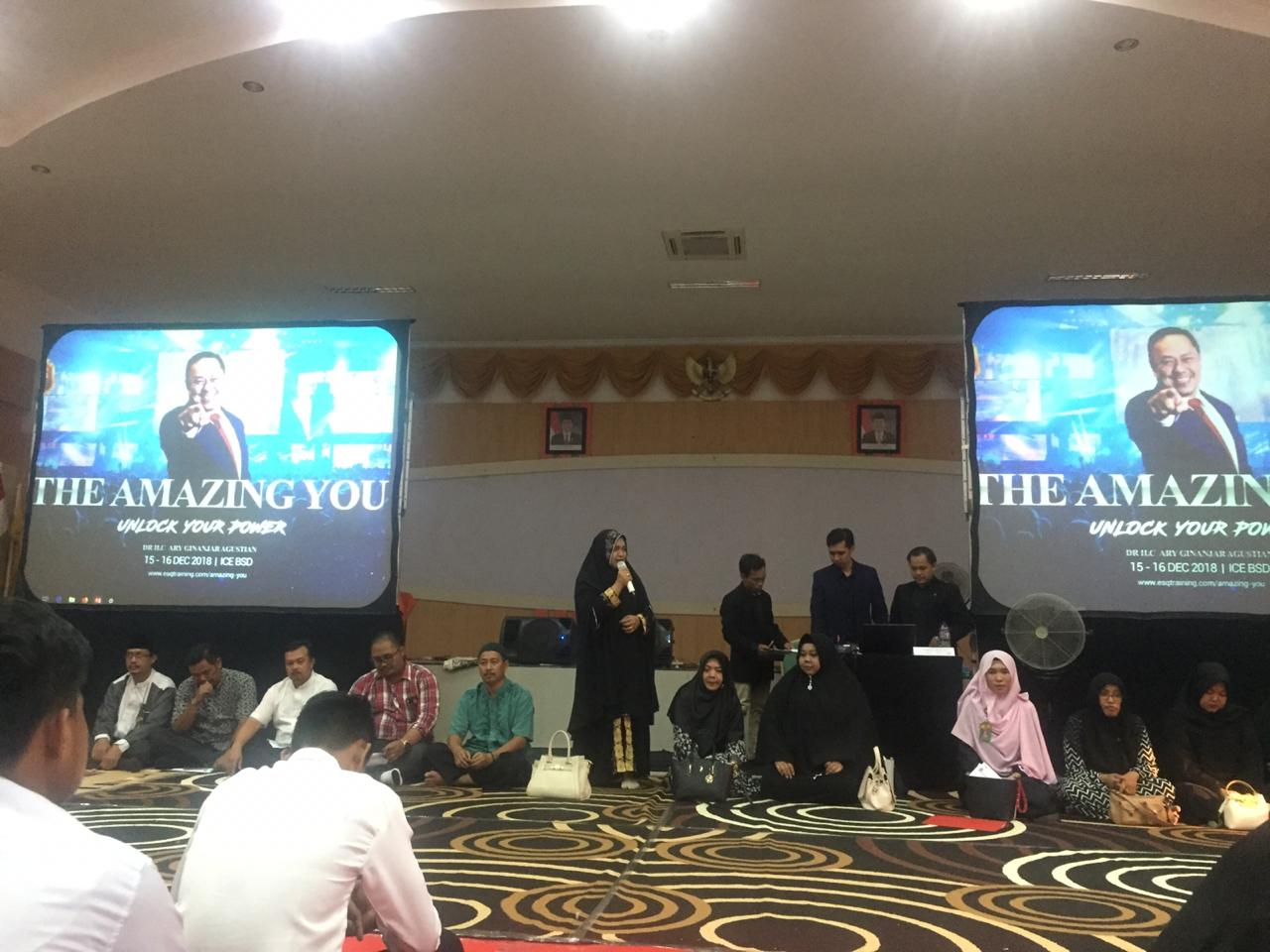 INHOUSE TRAINING ESQ MAHASISWA BARU T.A 2018/2019 STIE- INDRAGIRI RENGAT