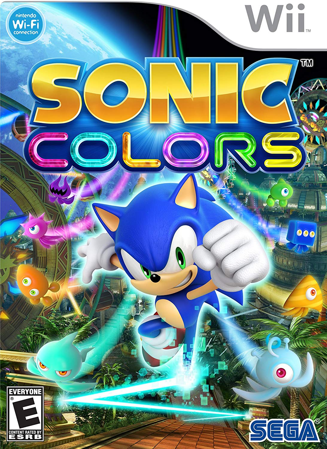 Image result for sonic colors wii box