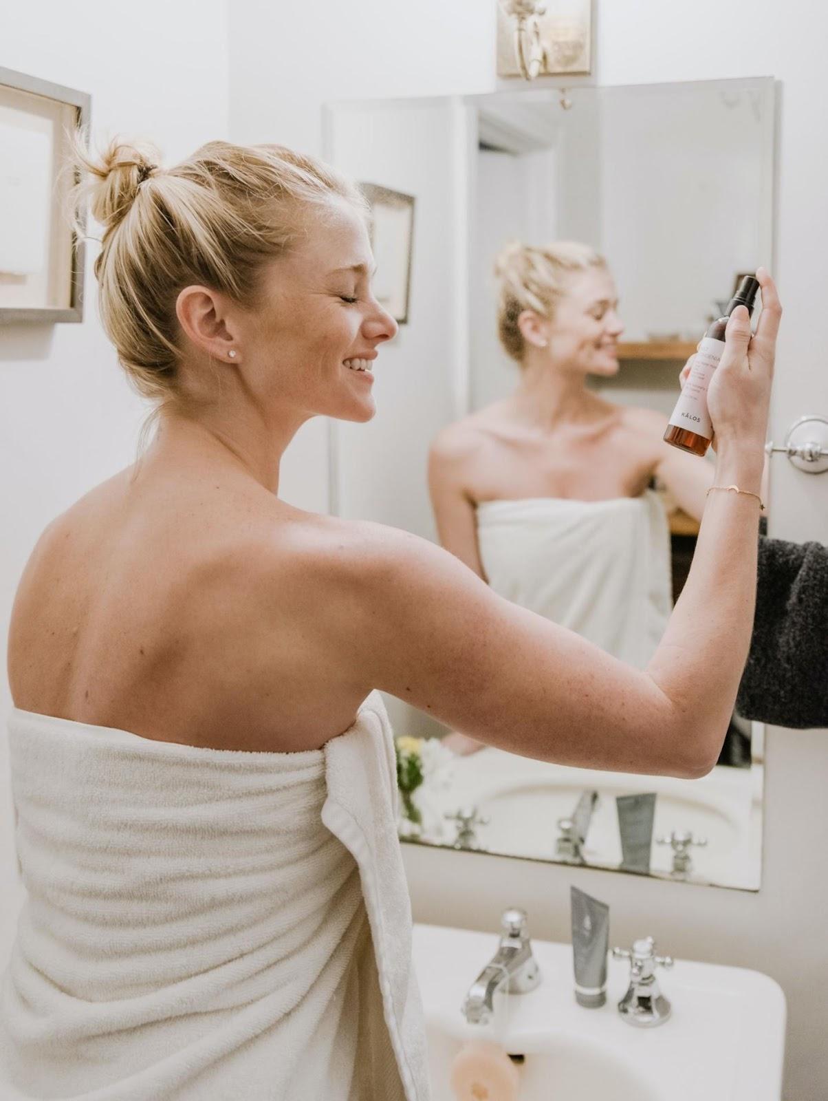 natural finish makeup application and skin care