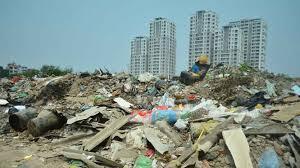 Chất thải xây dựng khó phân hủy gây ô nhiễm môi trường