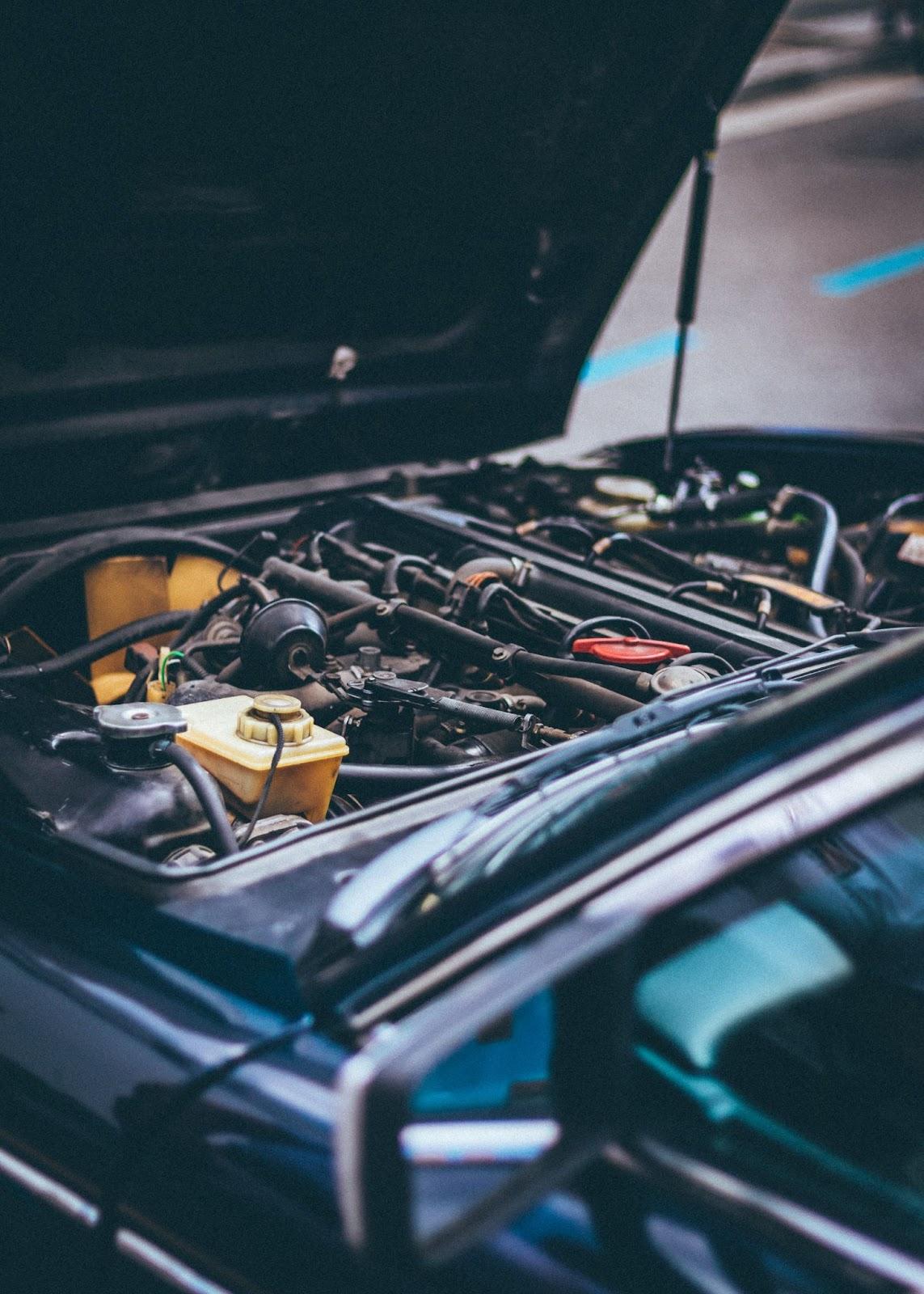 Check Engine Light Is On Car Engine