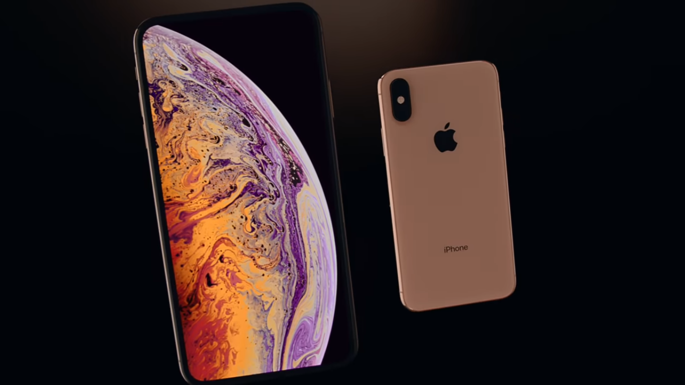 Дизайн Apple iPhone Xs