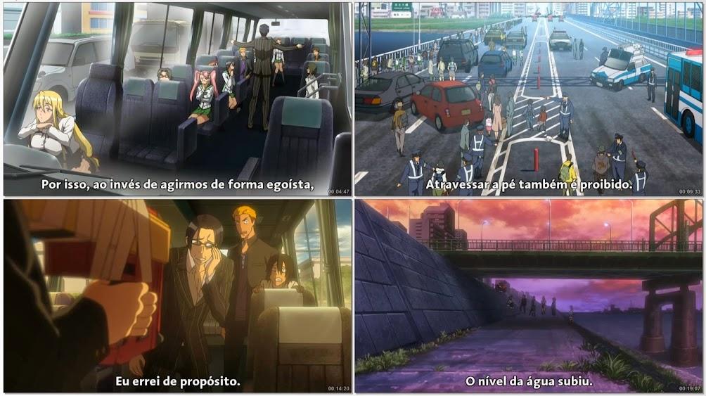 High School of The Dead + OVA (2010) BDRip 720p Legendado
