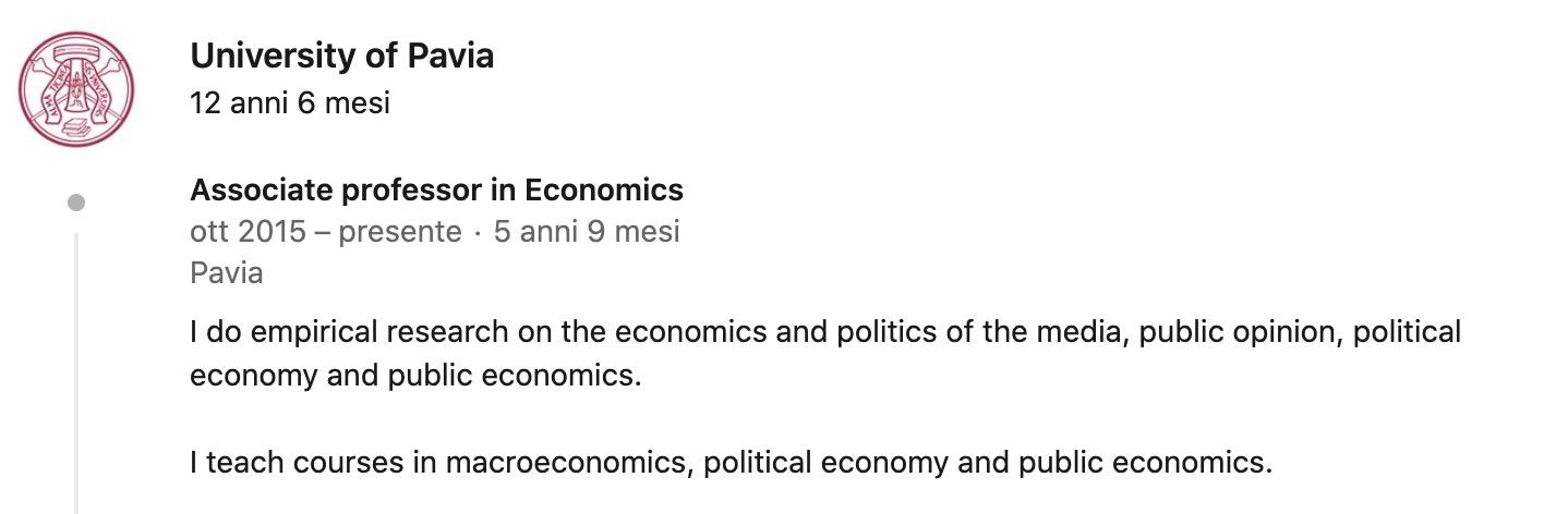 Puglisi e Stagnaro: chi sono i nuovi consulenti per politica economica e Recovery?