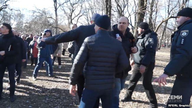 Президент не став відповідати на запитання журналіста Сергія Андрушка