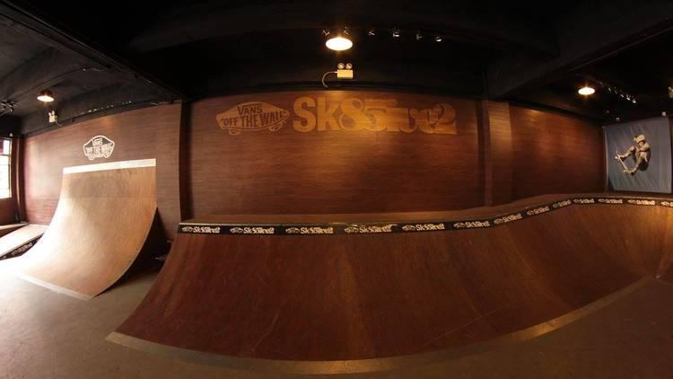 Sk85ive2 indoor skatepark in Hong Kong