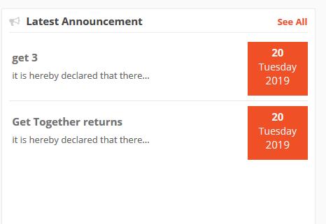 Dokan announcement
