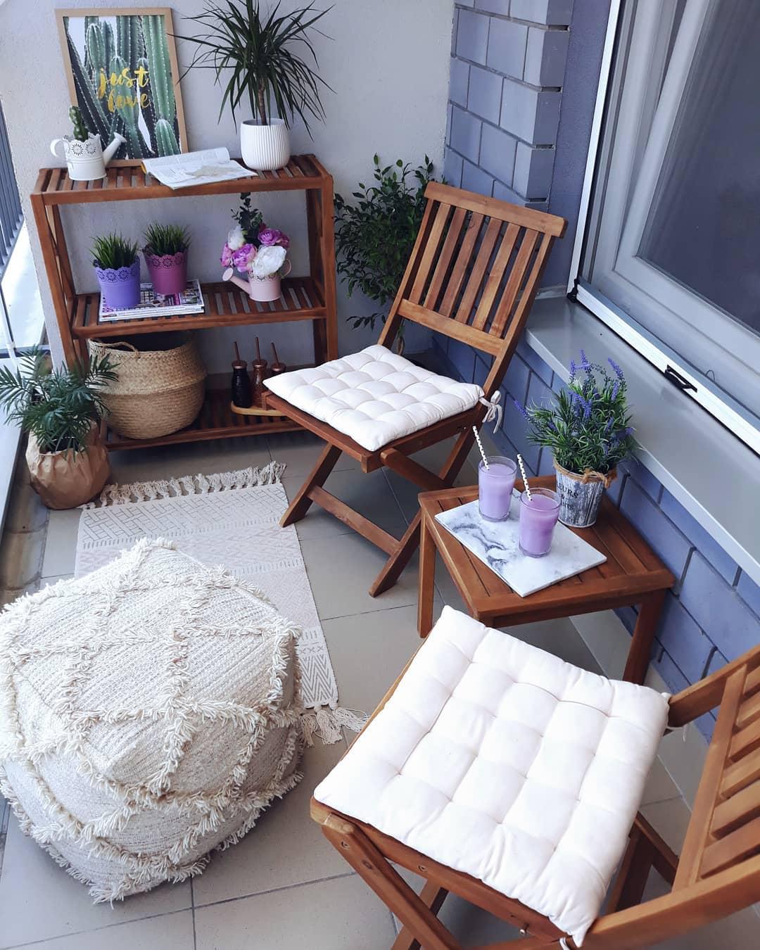 Originalno uređenje terase