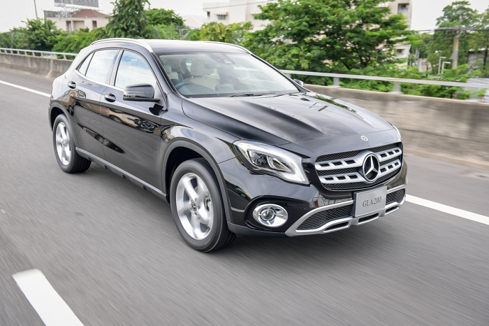 Mercedes-Benz GLA พื้นเตี้ย เหมาะกับใช้ในเมือง