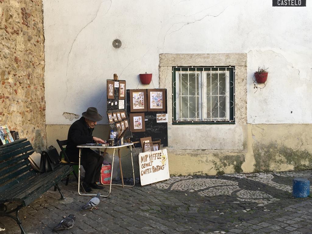 Pouliční umelci