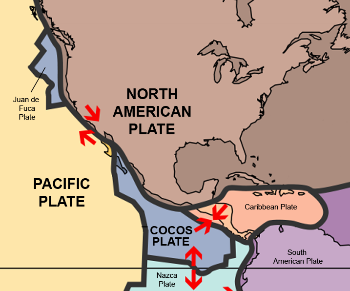 Image result for Mexico  tectonic plates