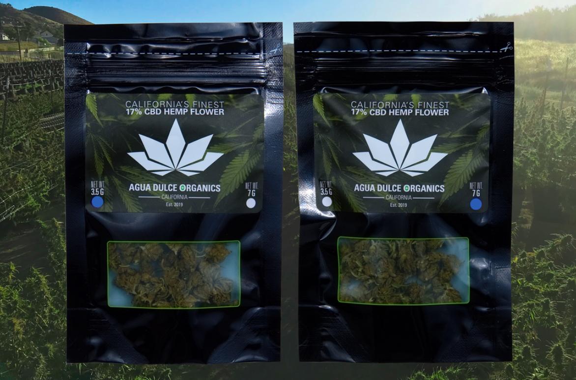 Agua Dulce Organics - CBD Hemp Flower