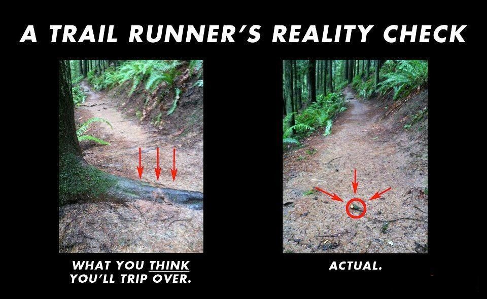 Trail running improves balance and coordination