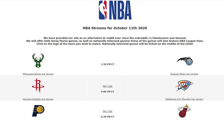 NBA-Streams - Watch NBA