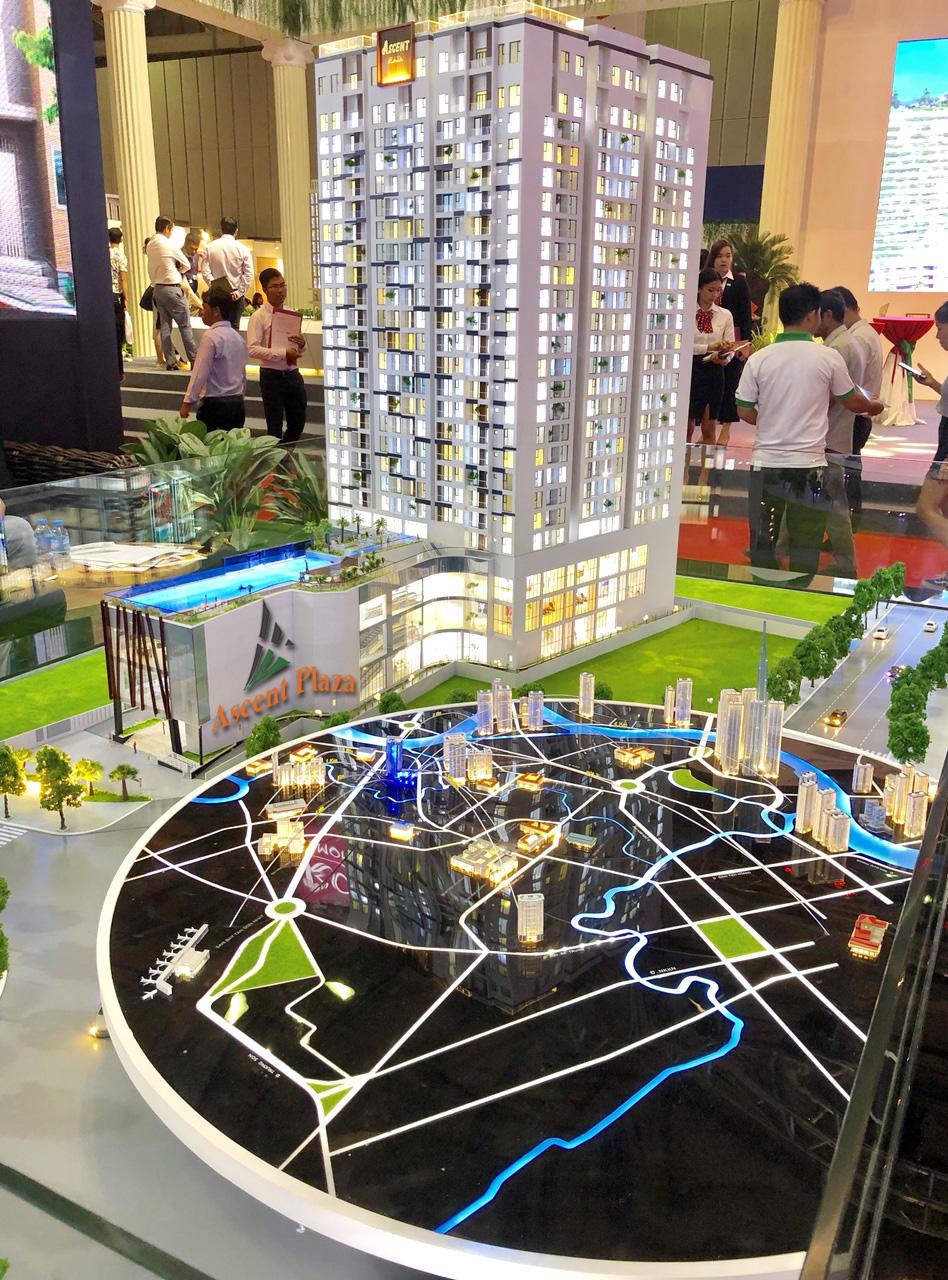 Phối cảnh căn hộ Ascent Plaza