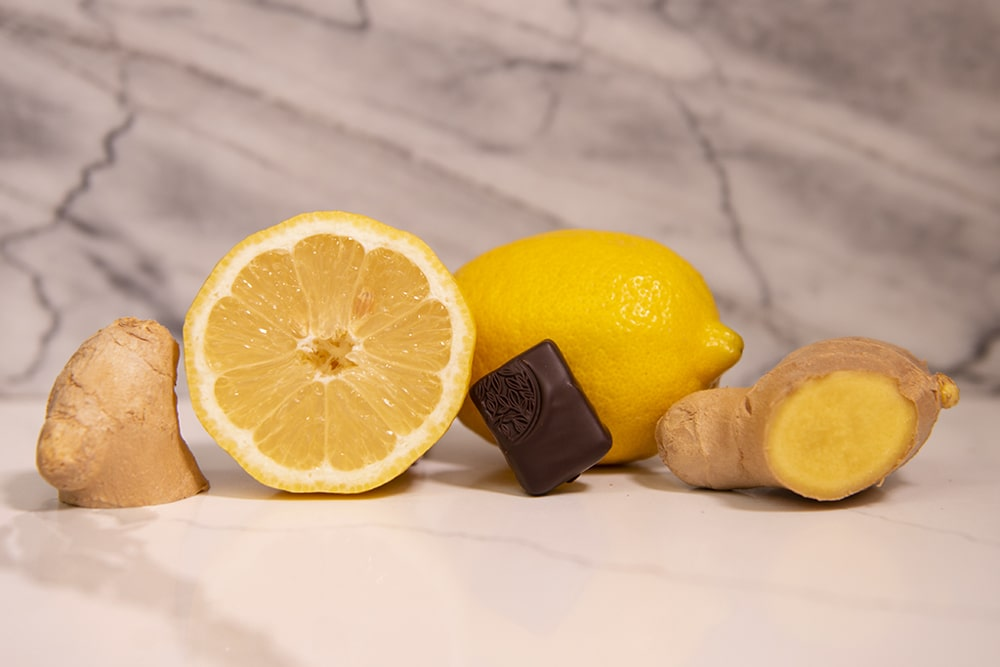 Spice and Chocolate combination; Melt's Yuzu and Ginger Chocolate