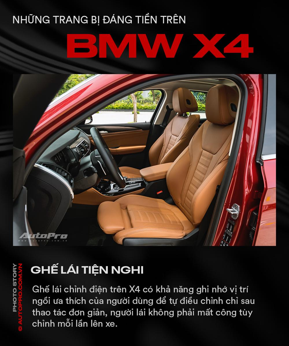 Những trang bị đáng tiền trên BMW X4 - Ảnh 4.