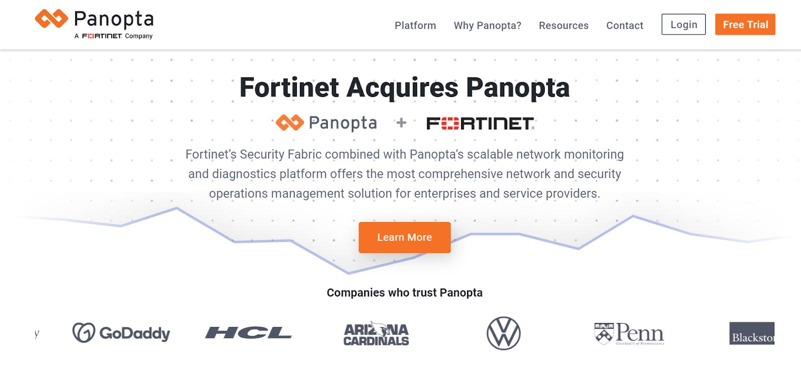 Panopta Server monitoring software