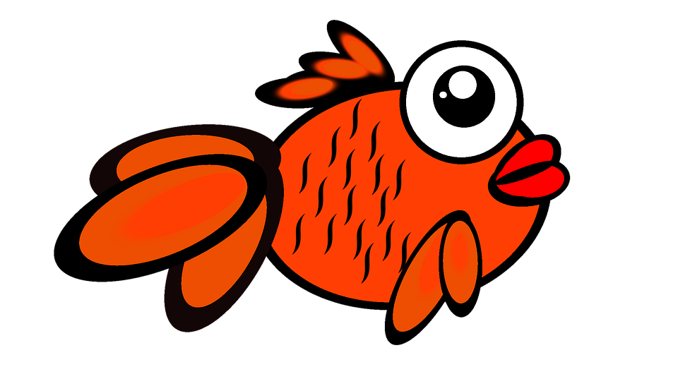 Free illustration: Fish, Gold, Gold Fish, Cartoon - Free Image on ...