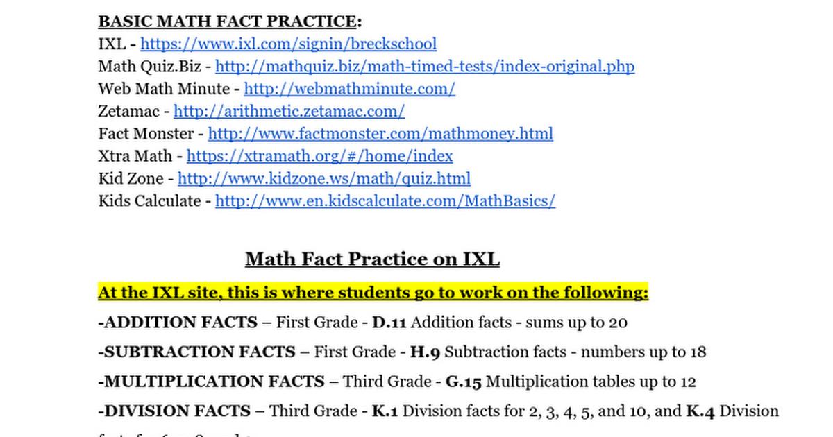 Generous Ixl.com Third Grade Gallery - Worksheet Mathematics Ideas ...