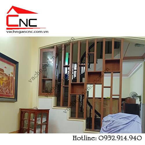 Lam cầu thang, mẫu lam gỗ phòng khách giá rẻ