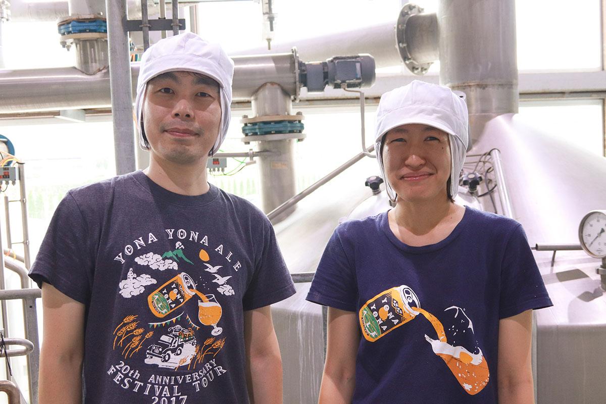 クラフトビールメーカー ヤッホーブルーイングのブルワー(ビール醸造家) ナイト・いたっち