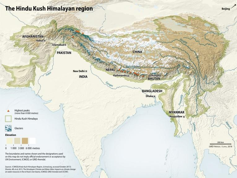 Image result for Hindu Kush Himalayan Region