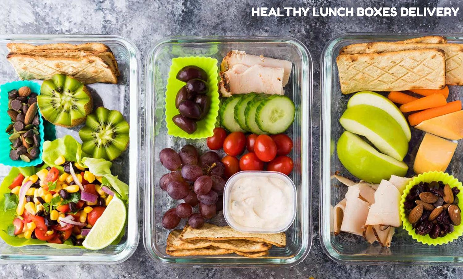 healthy lunch boxes delivery