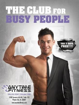 Anytime Fitness set themselves apart from their competition