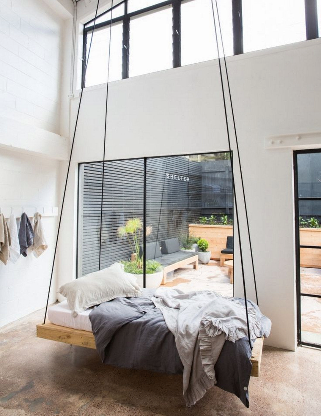 Bring The Fun Playground With A Swinging Bed