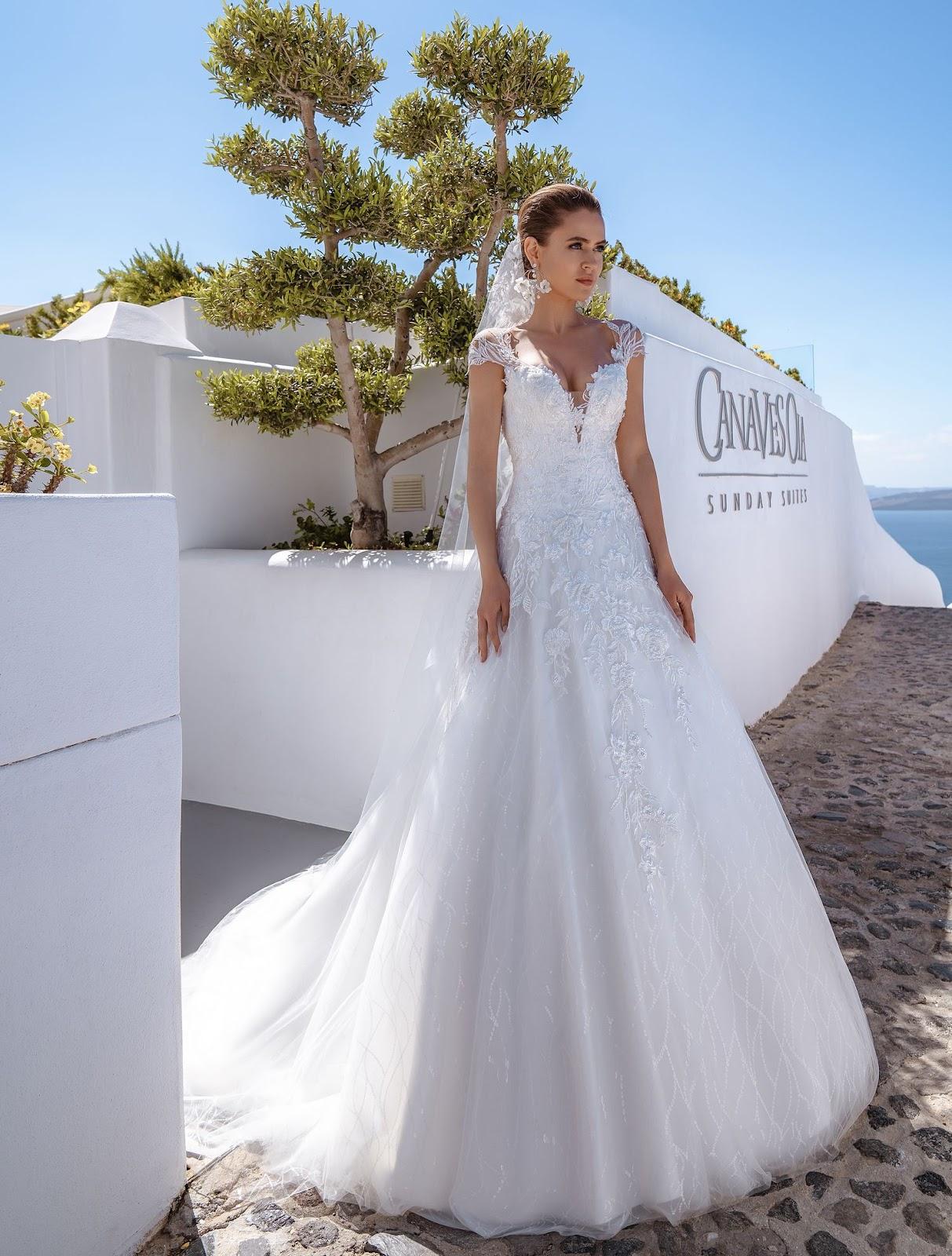 Весільна сукня А-силуету 2020