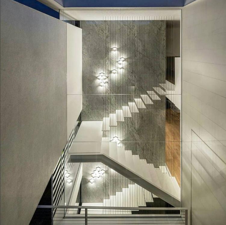 Iluminaci n led 20 ideas originales para espacios interiores inarquia - Iluminacion de escaleras ...
