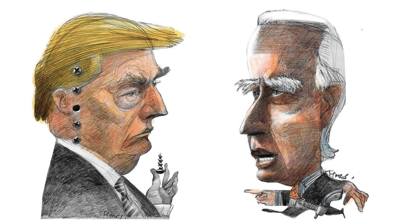 Trump y Biden | Foto:Pablo Temes