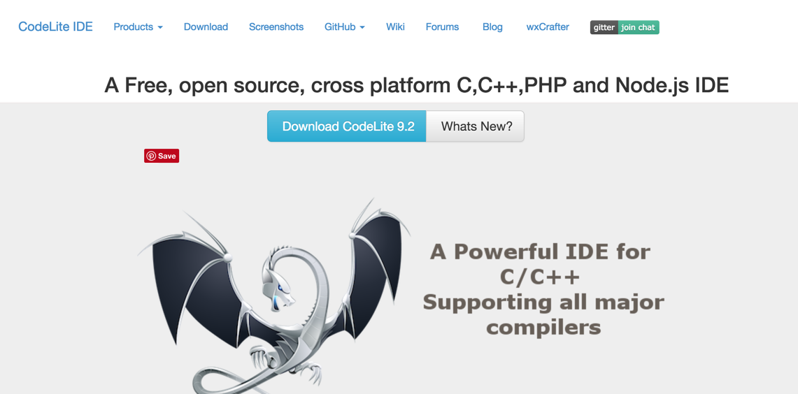 CodeLite Node.js IDE for developers