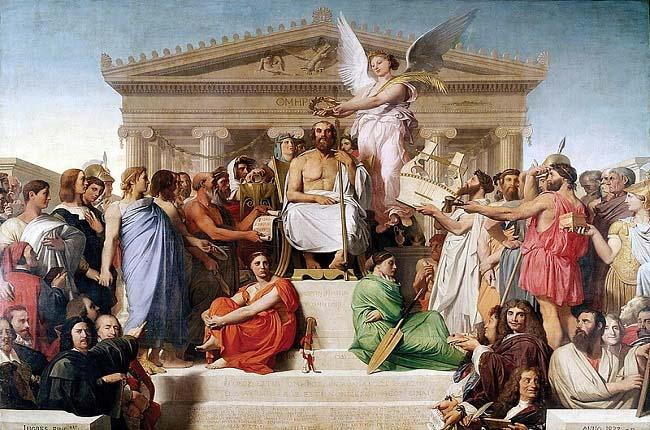La sociedad homérica en la Edad Oscura de la antigua Grecia